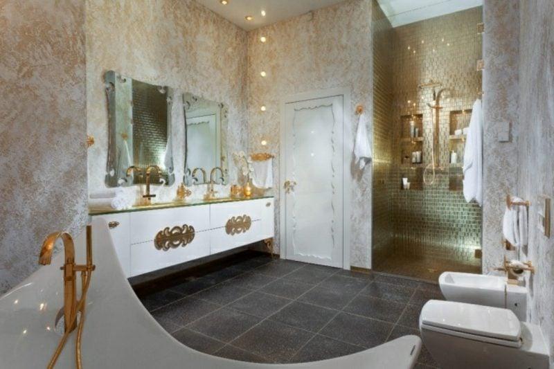 Luxus Badezimmer königlicher Stil