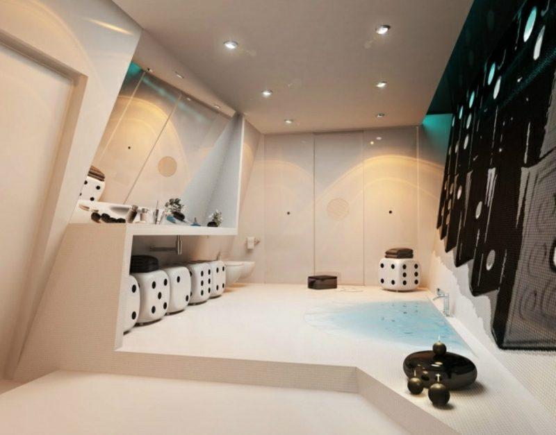 Luxus Badezimmer ausgefallenes Design