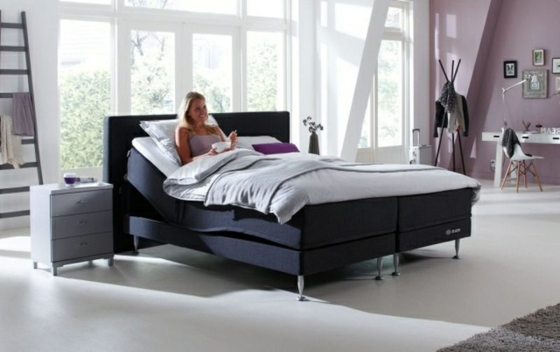 Aufbau von Boxspringbett Vorteile hoher Schlafkomfort
