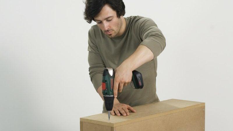 Tv wand selber bauen einfache anleitung f r unerfahrene - Tv regal selber bauen ...