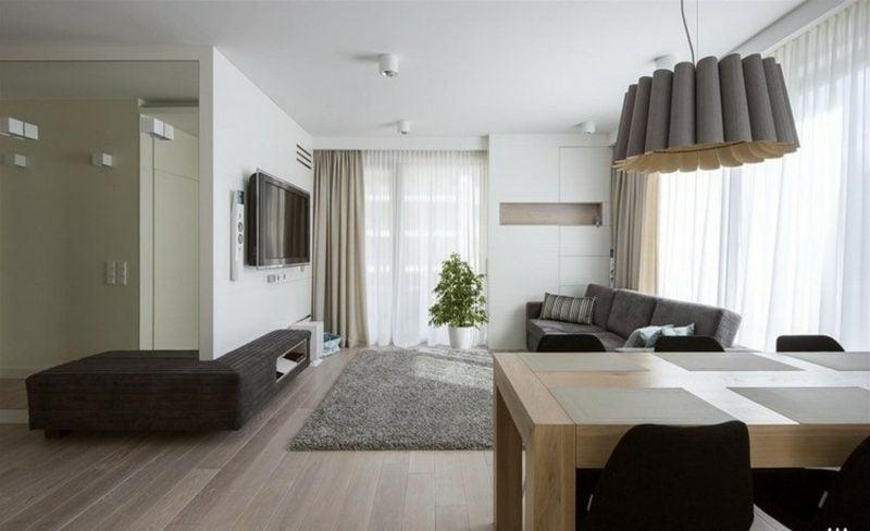 TV Wand selber bauen kreative Ideen Innendesign Wohnzimmer