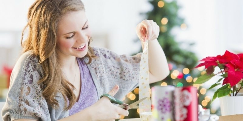 originelles Geschenkpapier zu Weihnachten die Geschenke selber verpacken