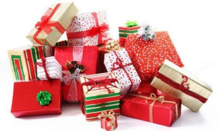 Geschenkpapier zu Weihnachten originelle Ideen