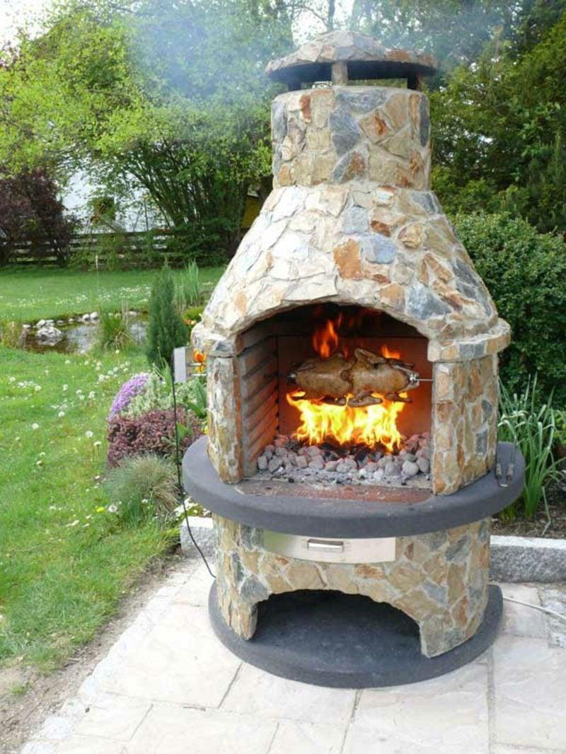 Steingrill selber bauen anleitung in 5 einfachen schritten - Gartengrill stein ...