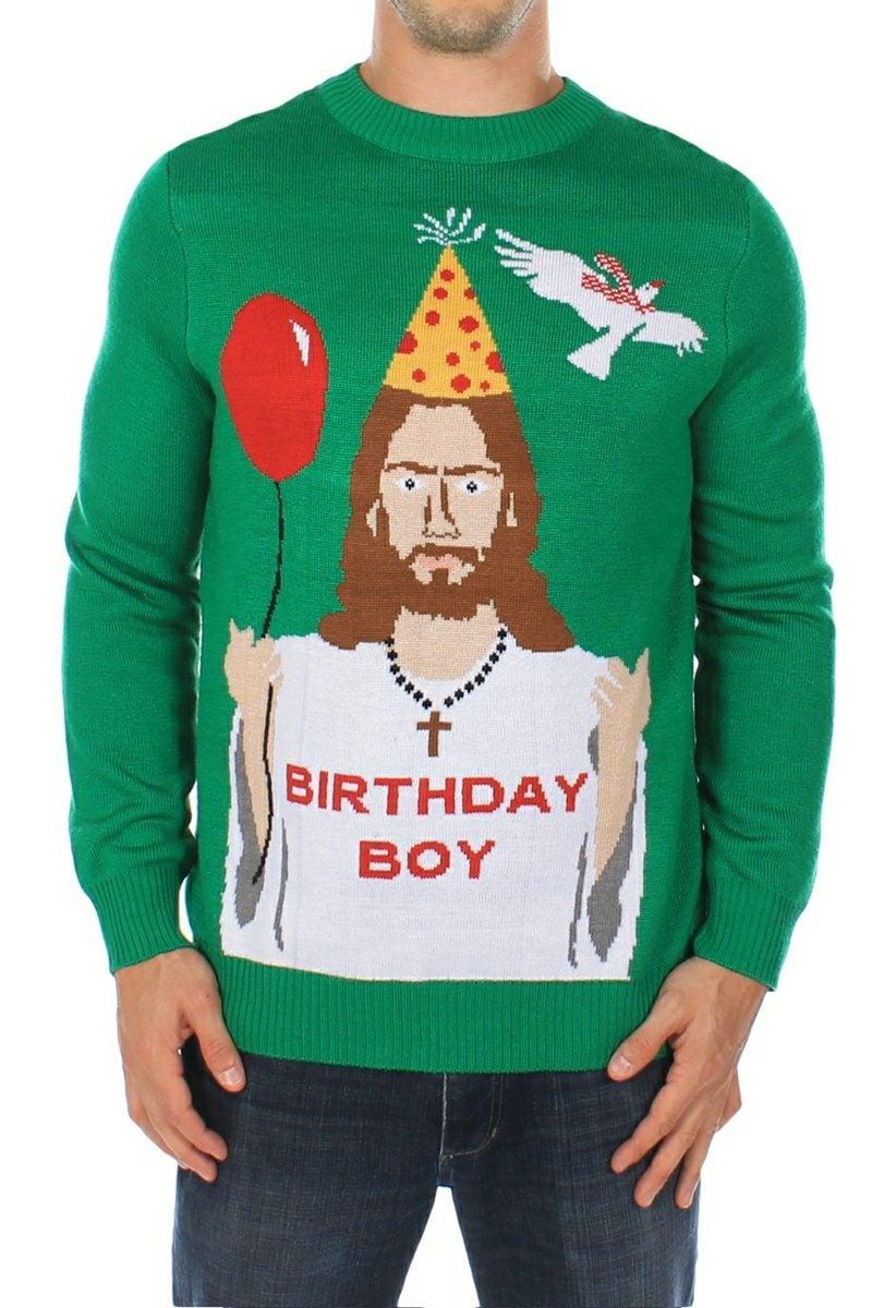 ich hasse weihnachten jesus christmas jumper