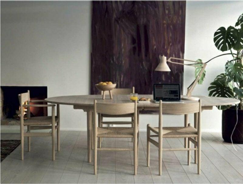 skandinavische Möbel Essbereich puristischer Look