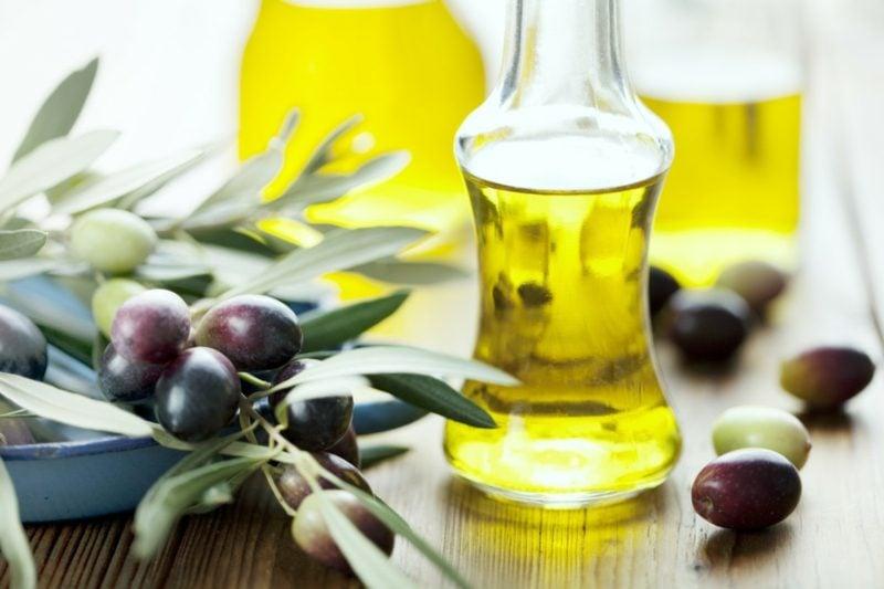 Olivenöl Zutaten Handcreme kreative DIY Ideen