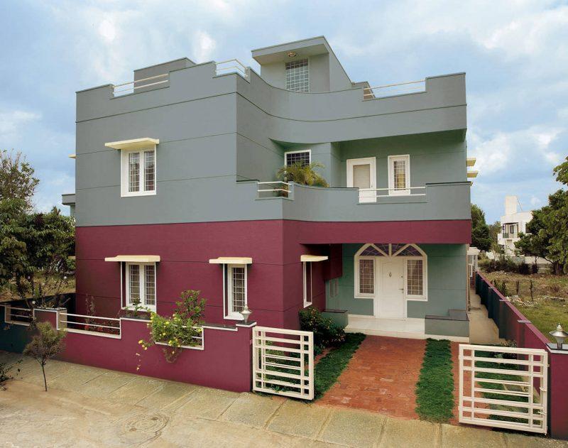 Fassadenfarbe Grau beispiele für fassadenfarben architektur zenideen