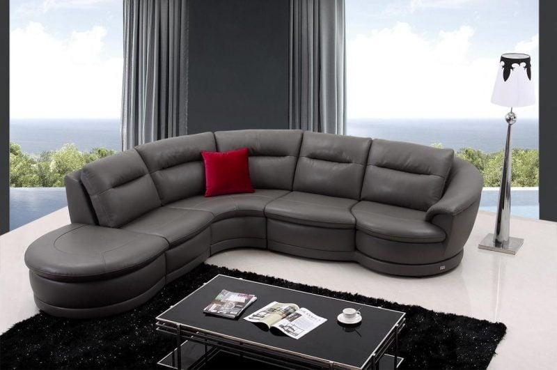 Scwarze Ledemöbel in elegantem Design!