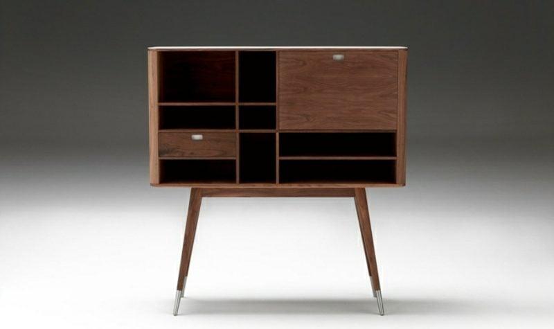 skandinavische Möbel Sideboard mit Schubladen Massivholz