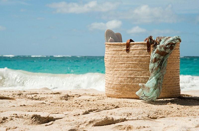 Strandtasche nähen interessantes Modell gross und praktisch