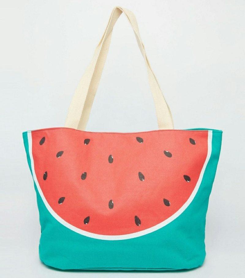 Strandtasche nähen interessantes Design Wassermelone
