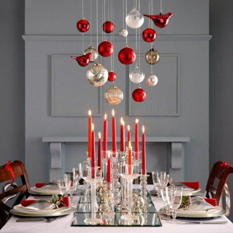 Weihnachtsessen festliche Tischdeko