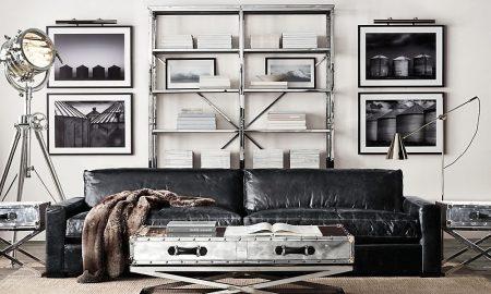 Moderne Metallregale für Zuhause