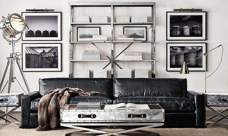 Metallregale im Wohnzimmer!