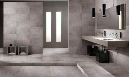 Fliesen in Betonoptik - der neue Trend für das Badezimmer