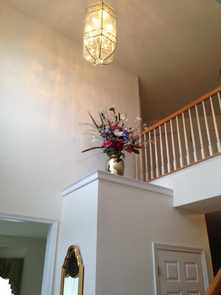 Blumendeko in der Wohnung.