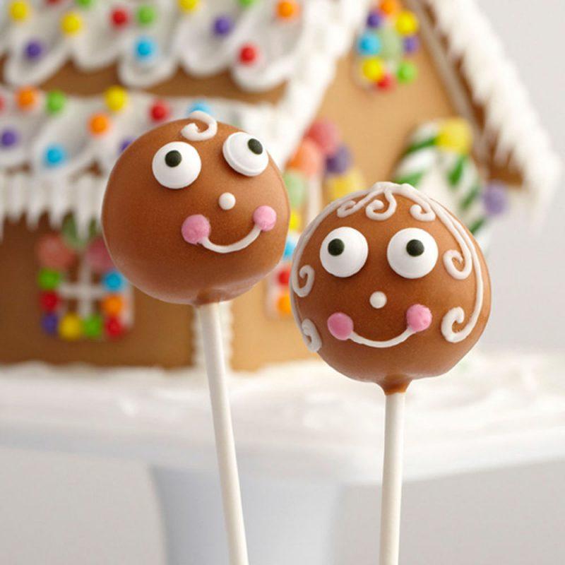 Bunte cake Pops sorgen für gute Laune!
