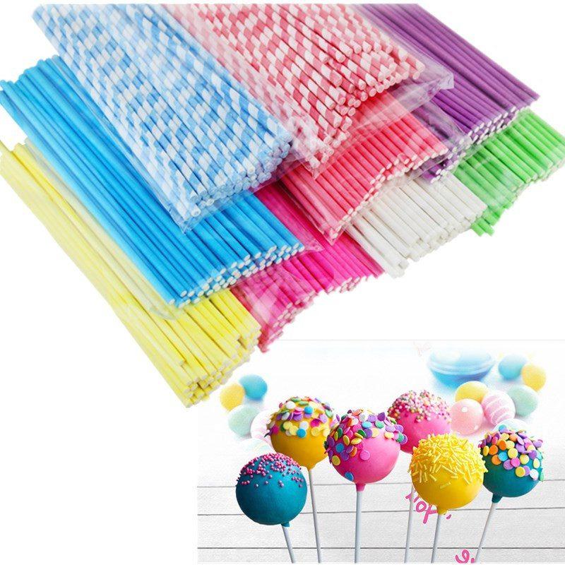 Cake Pop Stiele in verschiedenen Farben!