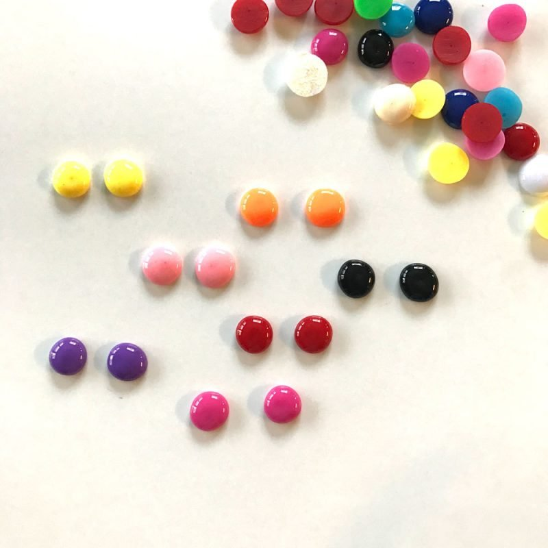 Candy Buttons in der Wunschfarbe!
