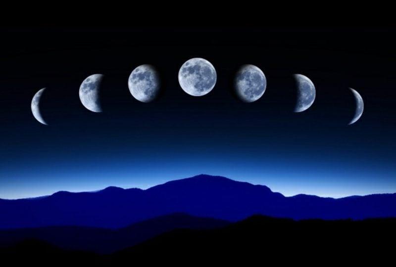Mondkalender 2015 für Garten die wichtigsten Mondphasen
