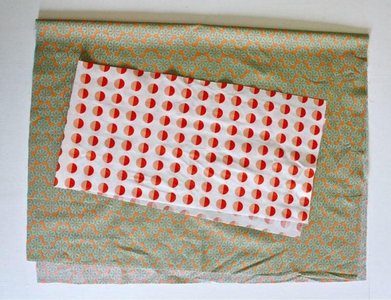 Schritt 1.2:Kissenhüllen nähen: Anleitung