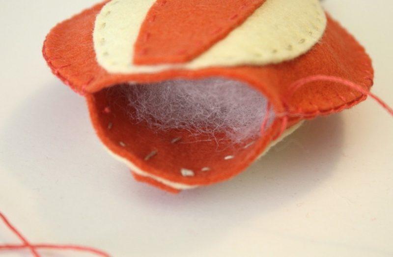 Baby Mobilehalter aus Filz - DIY Anleitung Spielzeuge