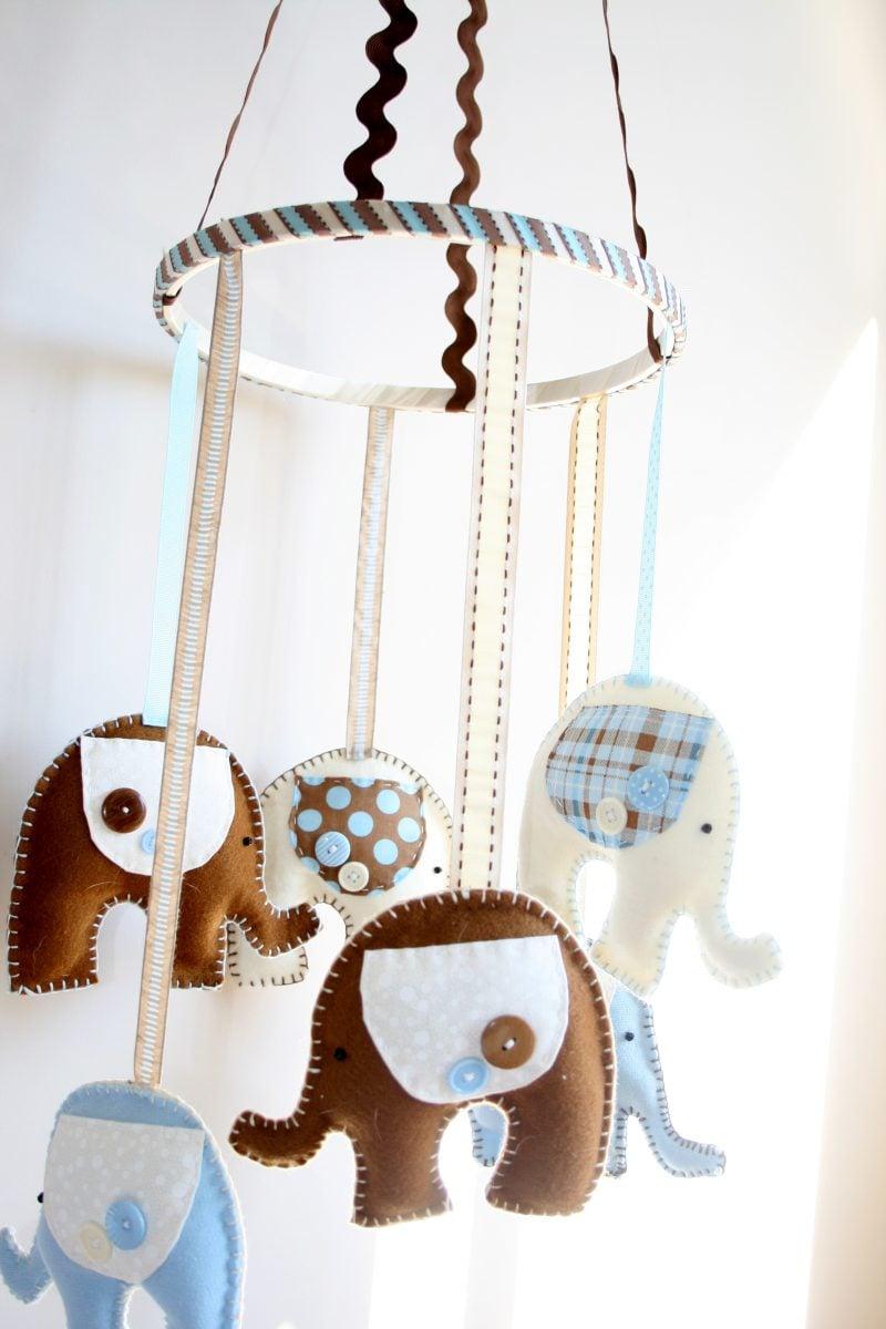 Filz für Babys basteln - DIY Anleitungen und kreative Ideen finden Sie hier