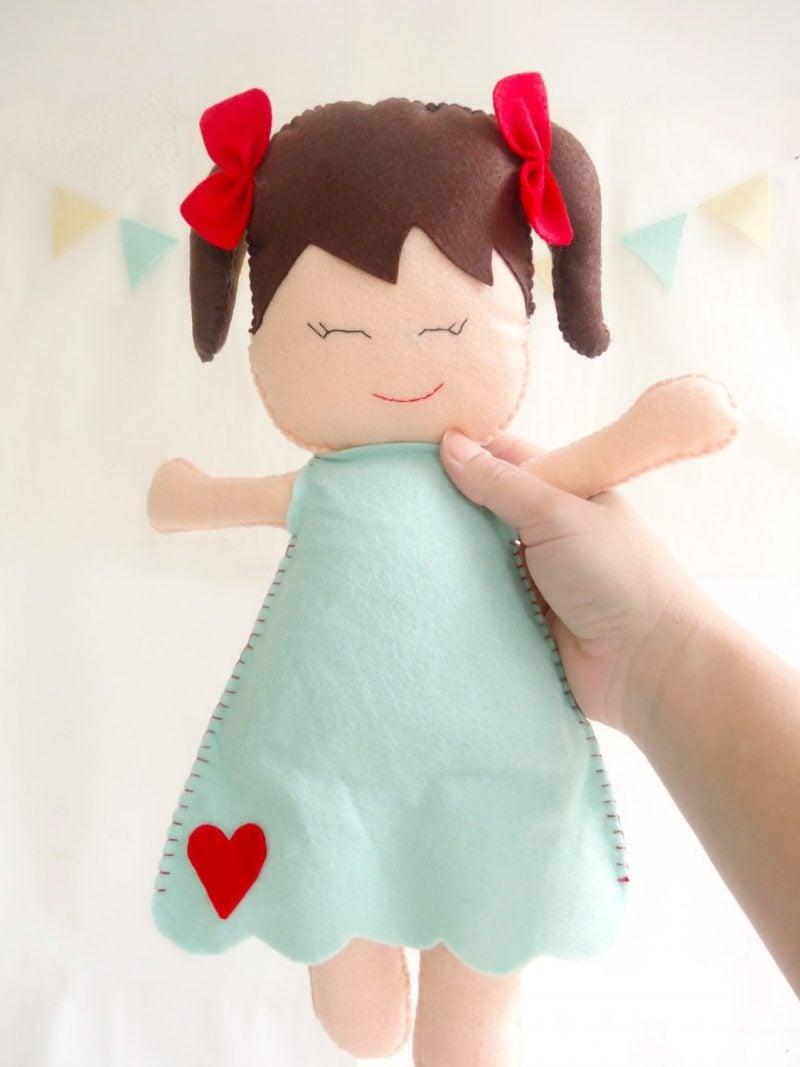 Filz Puppe basteln