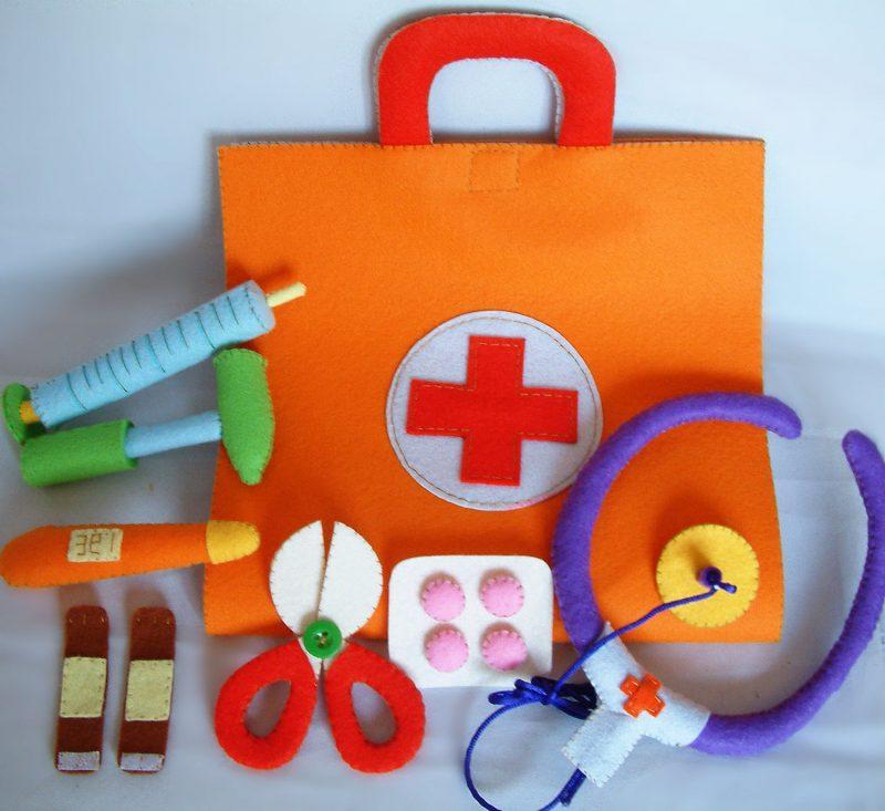 FIlz Spielzeuge für Kinder selber basteln