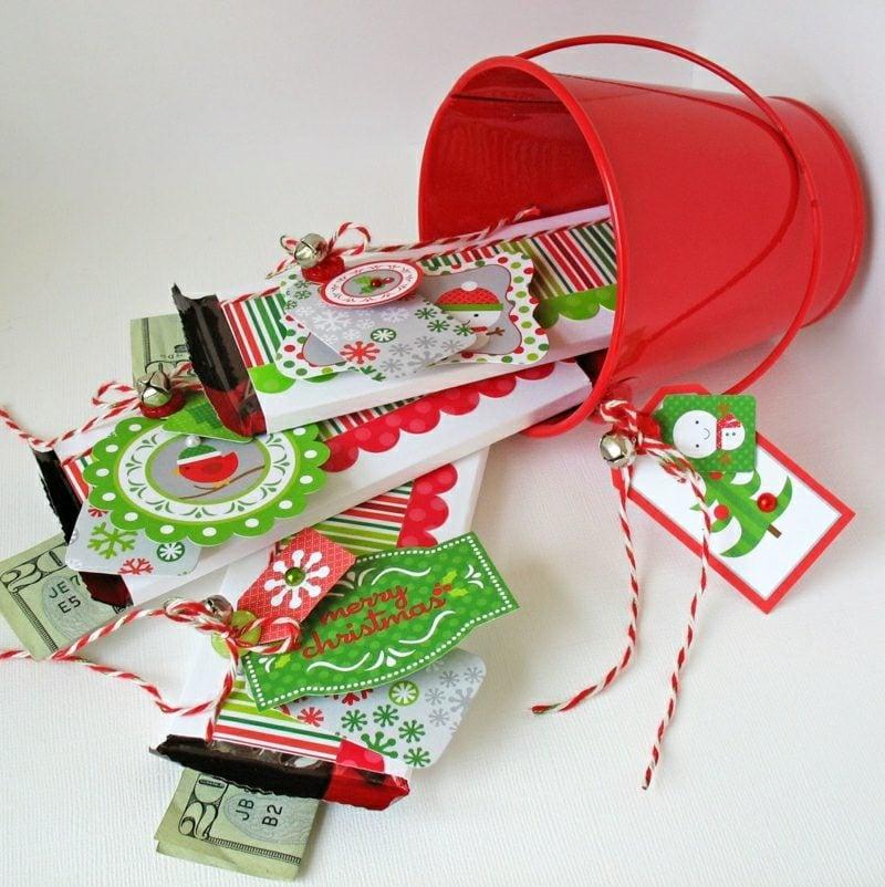 geldgeschenke cash candy weihnachten