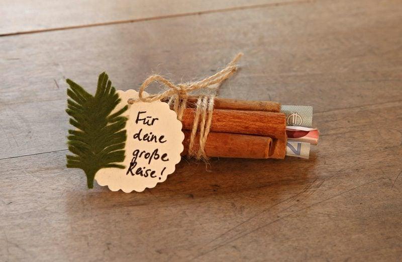 Geldgeschenke zu Weihnachten - DIY, Weihnachtsdeko Ideen - ZENIDEEN