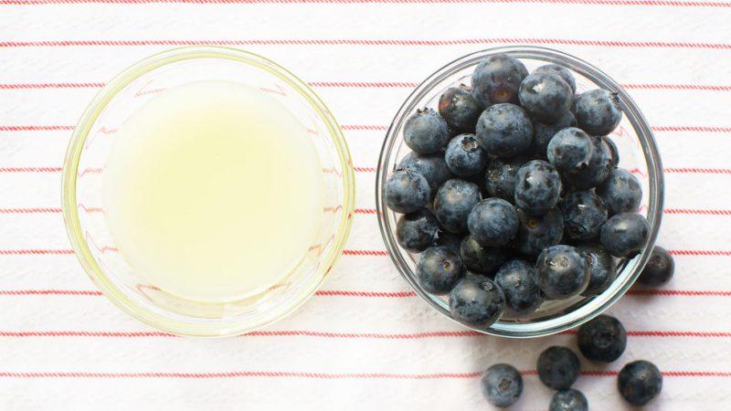 Beeren sind Antioxidationsmittel und sorgen als eine Detox-Creme