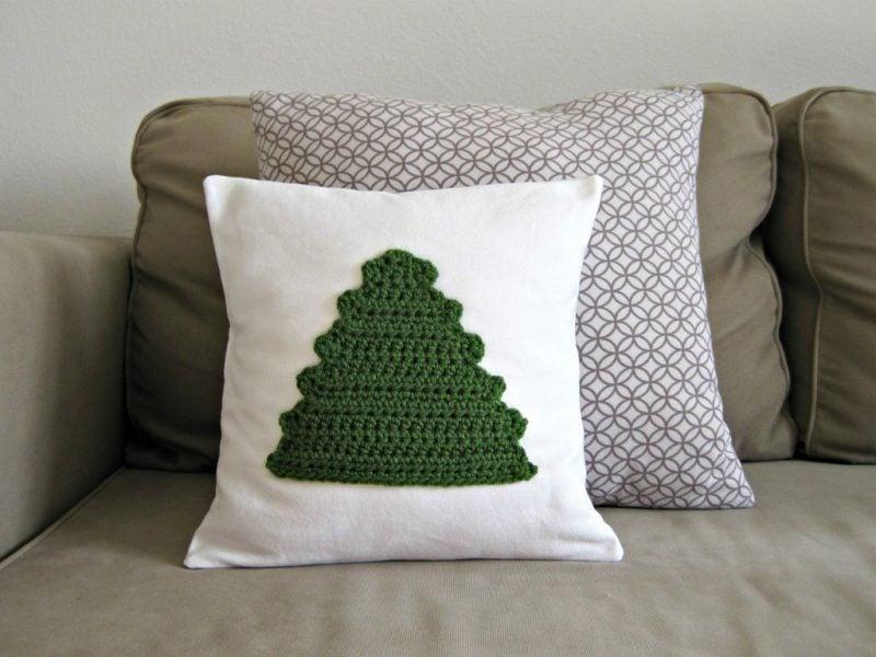 Häkeln für Weihnachten Kissen