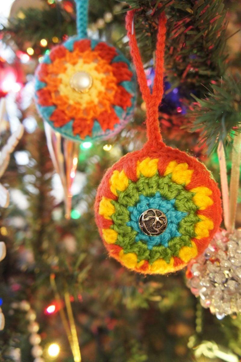 Häkeln für Weihnachten Christbaumschmuck