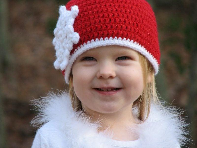 Häkeln für Weihnachten Mütze