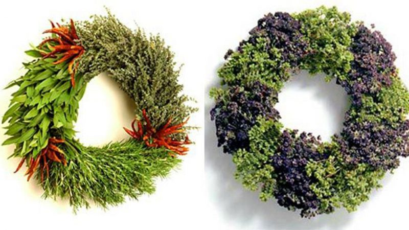 Türkranz zu Weihnachten inspiring ideas decorating