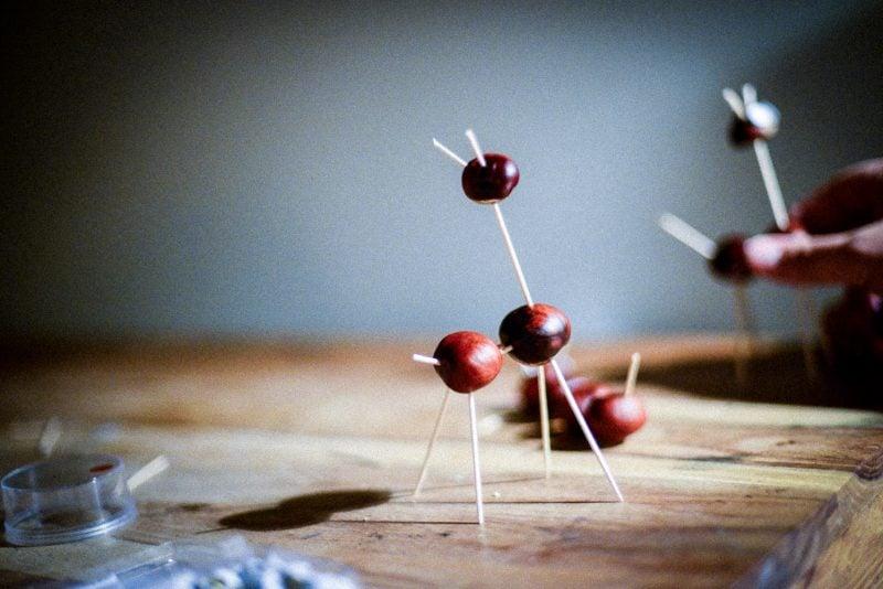 Beim Zusammenbauen lassen Sie Ihrer Fantasie freuen Lauf