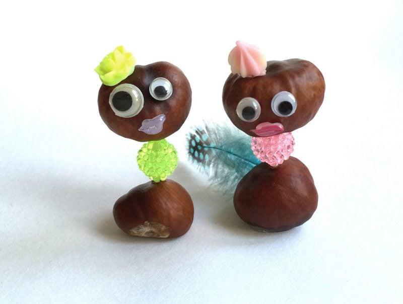 Kastanienmännchen basteln- holen Sie sich kreative Ideen von unseren Beispielen!