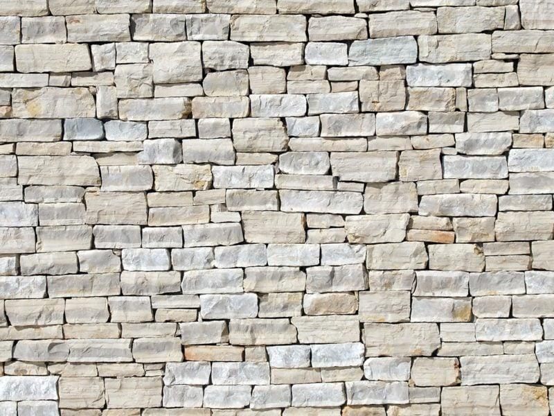 klassische Steinmauer