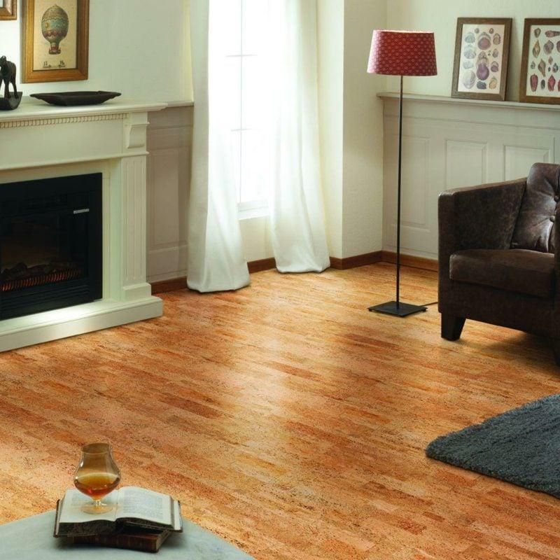 korkboden warm bis zu einem nat rlichen wunder bodenbel ge fliesen zenideen. Black Bedroom Furniture Sets. Home Design Ideas