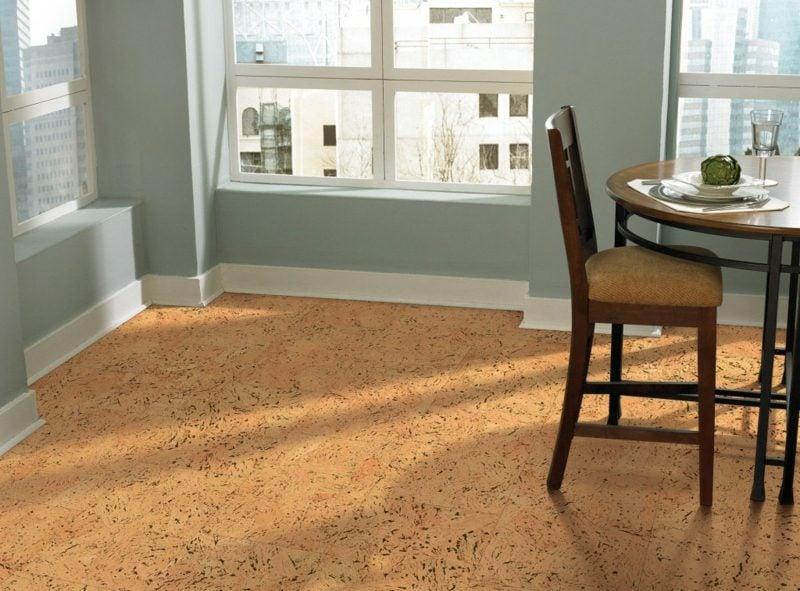 korkboden warm bis zu einem nat rlichen wunder. Black Bedroom Furniture Sets. Home Design Ideas