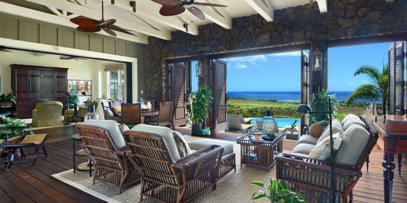 Eine tolle Einrichtung für die Terrasse.