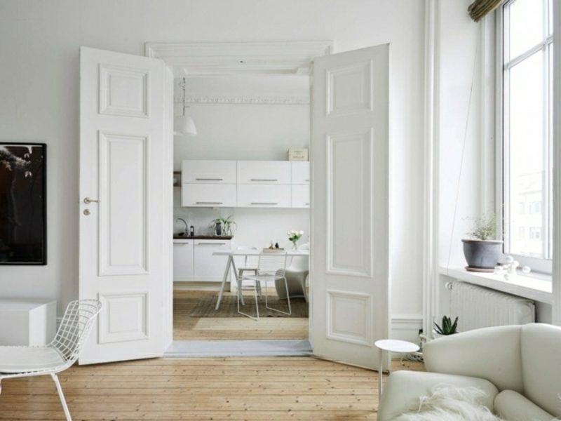 skandinavische Möbel neutrale Farbgestaltung moderne Einrichtungsideen