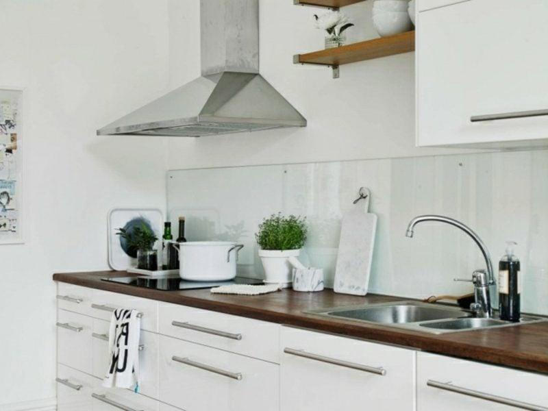skandinavische Möbel Küche im Weiss moderner Look