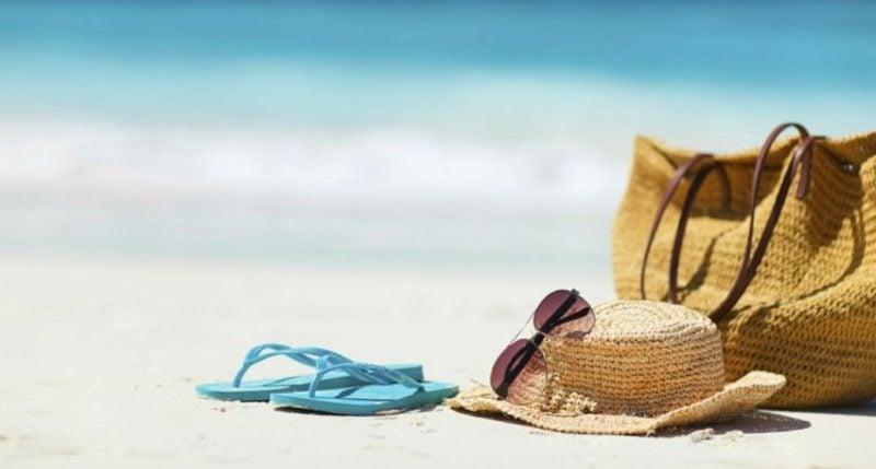 Strandtasche nähen kreative Ideen DIY
