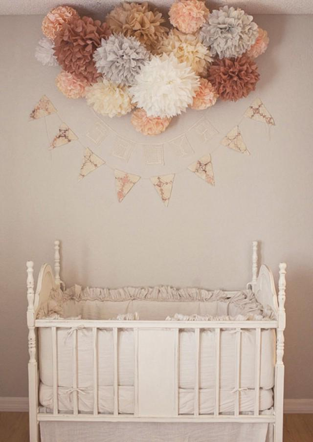 Pompons im Kinderzimmer