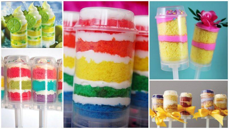 Set für Pushup-Cake Pops!