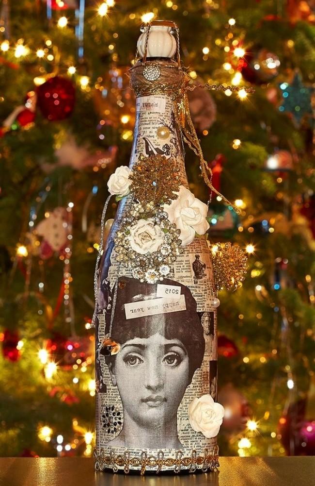 Serviettentechnik Anleitung - die beste Dekoration auf Silvesterparty