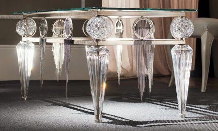 Silbertisch macht einen edlen Eindruck!